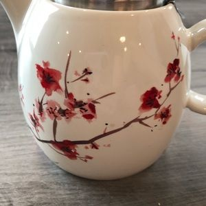 tea forte Kitchen - Tea Forte Cherry Blossom Teapot Ceramic